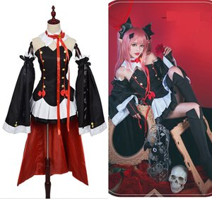 Anime Seraph of The End Cosplay Costume Vampires Krul Tepes Princess Dress