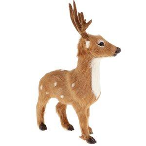 Artificial animal cervos Toy Taxidermia Garden Home Lawn Ornament Decor