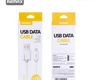 Remax Alta velocidad de datos cable de carga USB micro de cable para cable Samsung Sony HTC Huawei USB con el paquete al por menor