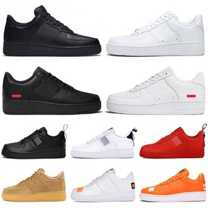 2020 men women running shoes utility triple white black low outdoor casual athletics platform mens womens trainers sports sneakers runners