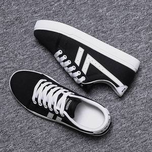 New Arrival Men Women Casual Shoes Unisex Fashion Canvas Shoes Red White Black Walking Outdoor Flat Shoes size 36-44