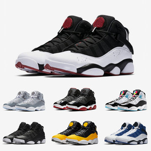 6 6s seis anillos zapatos para hombre fresco del baloncesto Concord Bred las mujeres verde hielo Gimnasio Espacio Rojo Jam hombres grises clásicos de las zapatillas de deporte y el ocio