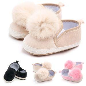 New Fashion Baby Prinzessin Krippe Schuhe weiche Sohle Kinderwagen Anti-Rutsch-Prewalker Baby Shoes
