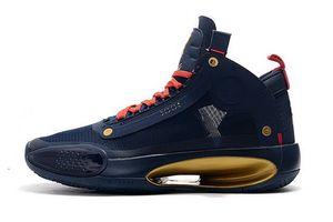 Männer 34 XXXIV Zion Williamson Pelicans Basketball-Schuh-Mode 34s Blau Void Bred Eclipse-Leopard Bernstein Sport Turnschuhe 40-46