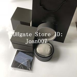 Großhandel von der hohen Qualität TAG Uhr-Kasten Uhr Boxs beiläufige Art und Weise Leder-Uhr-Boxen Uhren Schmuck-Box Geschenk-Box