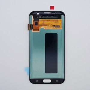 Samsung Galaxy S7 Kenar LCD Ekran Yedek SM-G935F G935A G935V 935T Dokunmatik Ekran Sayısallaştırıcı için Samsung S7 LCD için