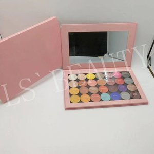 Hot sale KL New Cosmetics Makeup Magnetic 28 colors Eyeshadow Palette Pressed Powder for Eye High Quality Eye Shadows