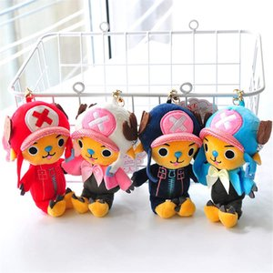 12cm Peluş Chopper Oyuncaklar OnePiece Luffy Sevimli Bebekler Dolmalar Japonya Animasyon Şekil Çocuklar Oyuncak Yüksek Kalite Hediye İçin Çocuk