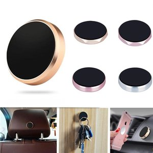 Mini magnetic universal patch gold car mobile phone with a multi-function magnet for mobile phone bracket