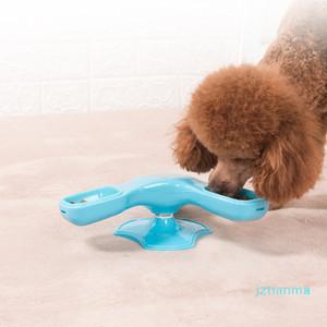 Pet разведки Роторный питатель Мельница вращения Обучение для собак и кошек, чтобы найти корм для домашних животных собак Миски для хранения пищи для питомцев
