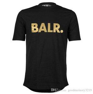 2016 Aufzug eines BALR T-Shirt Tops BALR MenWomen T-Shirt aus 100% Baumwolle Fußball-Sportkleidung Turnhalle Shirts BALR Markenkleidung