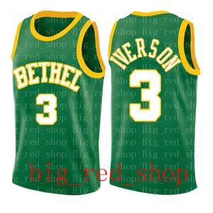 NCAA Universität Russell Westbrook James Harden 13 Allen Iverson 3 Bethel Iverson Dwyane Wade 3 Universität Jersey 88 99