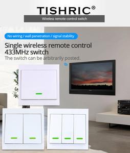 SONOFF RF / T1 / T 힙 홈 오토메이션 모듈 ISHRIC RF 리모콘 433MHZ 송신기 (86) 유형 벽 패널 스티커 스마트 홈 일 ...