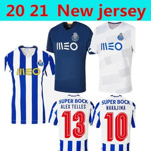 MEN +KIDS Compare with similar Items Porto fc ABOUBAKAR Mens Home Away white blue soccer jerseys PEPE NAKAJIMA MAREGA SOARES Futebol