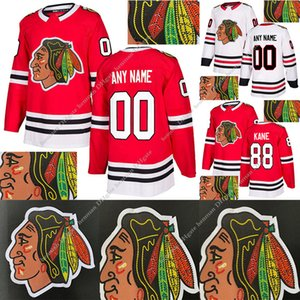 Chicago Blackhawks Hot drilling version jerseys 88 Patrick Kane 19 Jonathan Toews 12 Alex DeBrincat Stitched 2 Duncan Keith hockey jersey