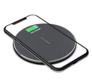Un PCS per l'iPhone 11 8 XS MAX 10W veloce senza fili del caricatore Qi rapidi di carico del caricatore wireless Samsung Galaxy Piegare S10 S10 + S10e Note9