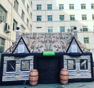 Открытый индивидуальный размер надувной паб надувной ирландский паб для продажи, надувной надувной бар для партии