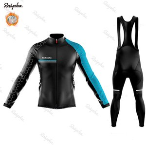 NW 2020 Winter Thermal Fleece long sleeve Cycling jersey Set bib pants ropa ciclismo bicycle clothing MTB bike Men clothes Suit