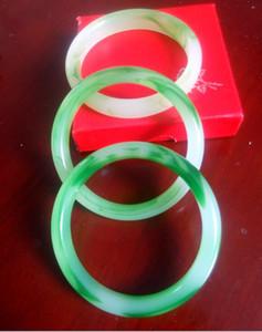 Bracelet livraison gratuite de jade flottant naturel 56-62mm
