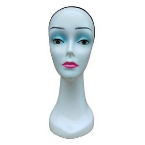 Stabile Weibliche Mannequin-Kopf-Perücke Hut Schmuck Kopfhörer Display-Ständer Modell