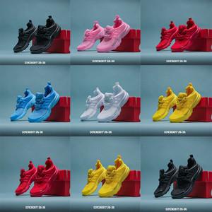 2020 niños PRESTO BR QS Verano Negro Blanco Rojo Amarillo Azul Niños Gilrs de los zapatos corrientes del presto Ultra infantil para niños Sport zapatillas de deporte