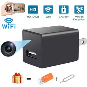 Cámara Cámara Z99 wifi cargador inalámbrico USB Plug 1080P HD de la cámara del IP del P2P AC / DC adaptador de enchufe de vigilancia wifi con detección de movimiento