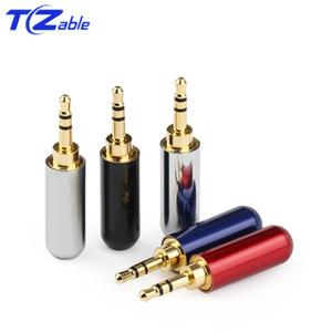 50 adet Hifi Ses Tak 2.5mm 3/4 Kutup Kulaklık adaptörü Ses Jack Kulaklık Tamir Kablo Lehim Konektörü Altın Fiş Erkek Yükseltilmiş Tel