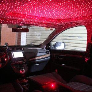 Starry Light Car intérieur Mini LED étoile laser atmosphère ambiante Projecteur Lumières USB Auto Décoration Toit Night Sky Galaxy lampe