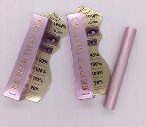 Тушь лучше, чем секс тушь лучше, чем любовь Cool черный тушь для ресниц розовый тюбик розовой упаковке CrulingWaterproof бесплатная доставка высокое качество!