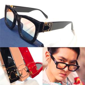 Son moda tasarımcısı güneş gözlüğü 98008 milyoner küçük çerçeve açık koruma avant-garde popüler dekoratif gözlük en kaliteli