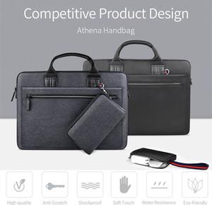 """bolso de lujo del diseñador para el macbook 14"""" resistente al agua resistente a los arañazos de gran volumen ecológico Athena bolso para el macbook 11"""" 13"""""""