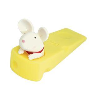 EASY-Cute Door Stops Cartoon Creative Silicone Door Stopper Holder Toys For Children Baby Home Furniture Hardware