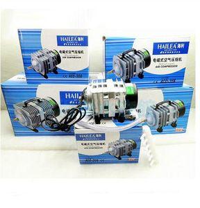 35/45 Вт ACO- 318 Электромагнитный воздушный компрессор портативный AC 220 В кои аквариум с пузырьками Аквариум воздушный насос пруд-аэратор