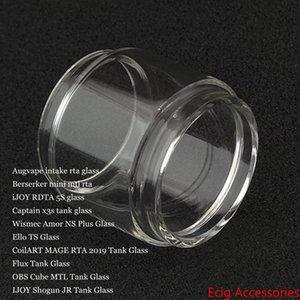 Fat Birne Blase Glas für Intake Berserker Mini iJoy RDTA 5S Kapitän X3s Amor NS Plus-Ello TS MAGE RTA 2019 Flux Cube MTL Shogun JR DHL