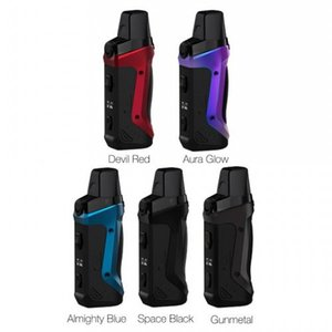 Geekvape Aegis Boost Pod Mod Kit e cigarettes 40W Built-in 1500mAh Battery with 3.7ml Cartridge 0.6ohm Mesh Coil 100% Authentic