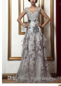 Beading Sequins Ruffles Sheath Column Mother of the Bride Dress
