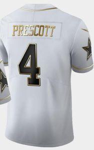 L'uomo del New England 12 Jersey NE camice bianco Throwback d'oro limitata degli uomini di Jersey tutto il pullover di calcio squadre americane