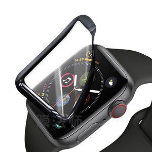 사과 시계 시리즈 1234 38MM 40MM의 44MM의 42MM에 대한 PET + PMMA의 화면 보호기는 Iwatch을 위해 유리 필름을 강화하지 않음