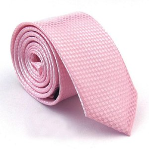 HOOYI 2019 de forma magro Laços para o presente do partido rosa Homens Gravata Mariage