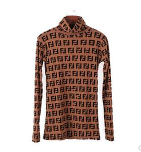 Женская рубашка Классический модный бренд hot Ins Ladies Сексуальная печать с принтом Мягкая стрейч Тонкая сетка с высоким воротом OL Бизнес блузка