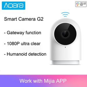 Cheap Remote Control Newest Aqara Smart Camera G2 1080P Gateway Edition Zigbee Linkage Smart Devices IP Wifi Wireless Cloud Home Security