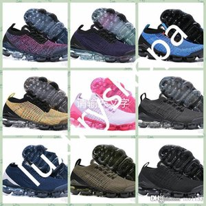 NEVP3a hot sale cheap Men Women Sports outdoors shoes 3 Vapors Fly 3.0 Knit 3s Official Luxury designer Sneakers Breathable Durable