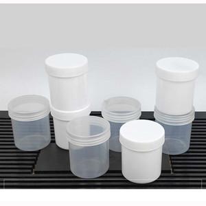 150ML botella plástica vacía con la tapa del envase de la muestra de los hogares para llevar Sub pequeña botella de plástico sellada tanque de almacenamiento