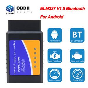 ELM 327 V1.5 OBD2 Bluetooth сканер для Android ELM327 v1.5 ODB2 Code Reader OBD 2 OBD2 автомобиля диагностический сканер инструмент ELM327 1,5