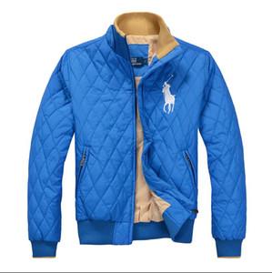 Casual Abrigos Chaqueta chaquetas Parkas POLO 2019Ralph Lauren chaquetas de los hombres de calidad Mujer de algodón de alta capa de la chaqueta Windrunner