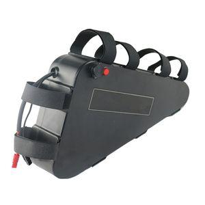 Spedizione gratuita Nessuna tassa per il triangolo di plastica di alta qualità degli Stati Uniti UE Batteria al litio Ebike impermeabile 48V 20Ah batteria per mountain bici elettrica