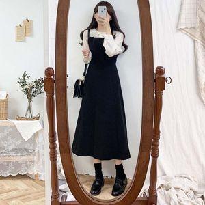 new S-XL Plus size Autumn Dress Girls Boho Party Female Vintage Dress Long Sleeveless sundress Women Dresses Long Robe Vestido