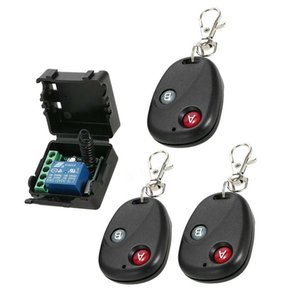 Wireless Remote Control Switch Relay Controller Transmitter Receiver Garage