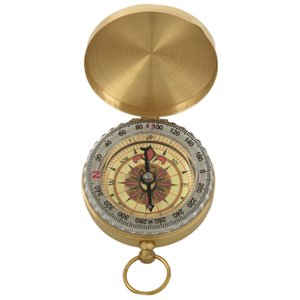 Super sell-Classic Brass Pocket Watch Style Camping Compass
