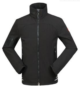 Новый Стиль Расслабленный Высокое Качество Канада Дизайнерская Куртка Составная Бархатная Мягкая Оболочка Куртка